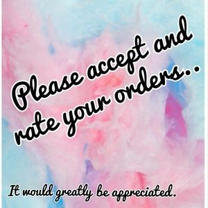 Other - 🙏Please be courteous and accept your order🙏